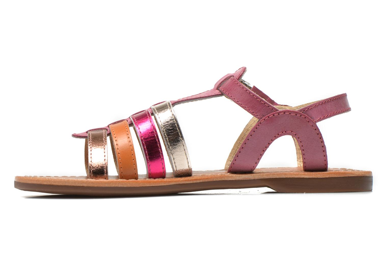 Sandalen Aster Vibride rosa ansicht von vorne
