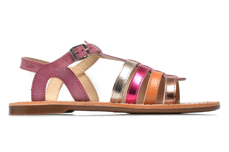 Sandales et nu-pieds Aster Vibride Rose vue derrière