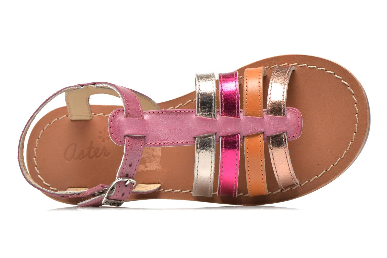 Sandali e scarpe aperte Aster Vibride Rosa immagine sinistra