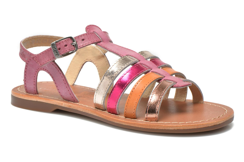 Sandales et nu-pieds Aster Vibride Rose vue détail/paire