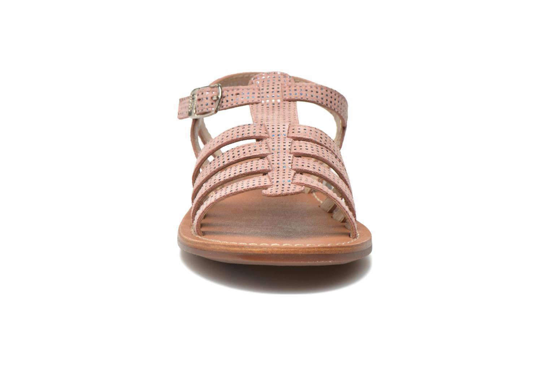Sandalen Aster Vibride rosa schuhe getragen