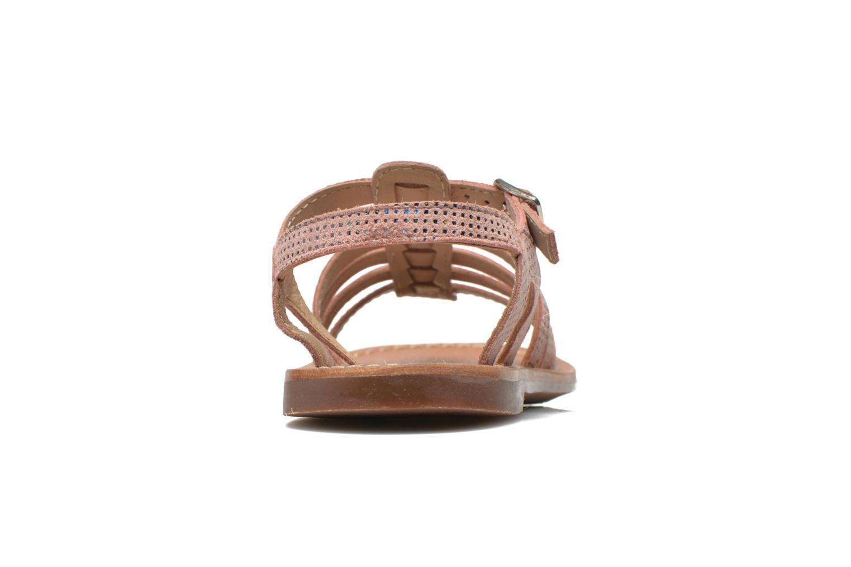 Sandali e scarpe aperte Aster Vibride Rosa immagine destra