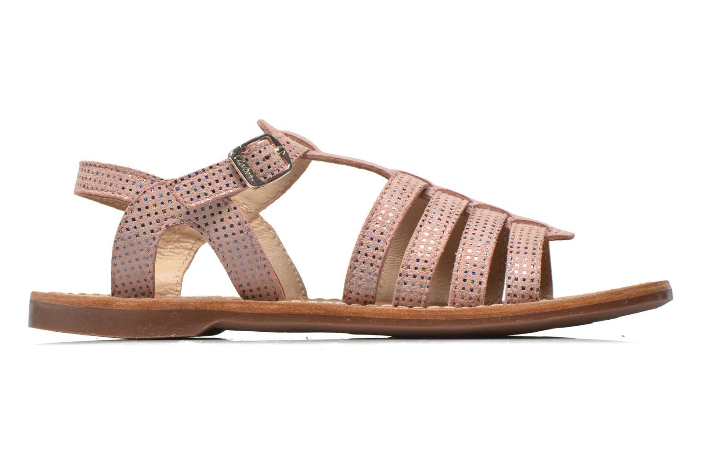Sandali e scarpe aperte Aster Vibride Rosa immagine posteriore