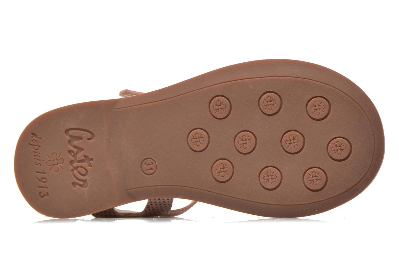 Sandali e scarpe aperte Aster Vibride Rosa immagine dall'alto