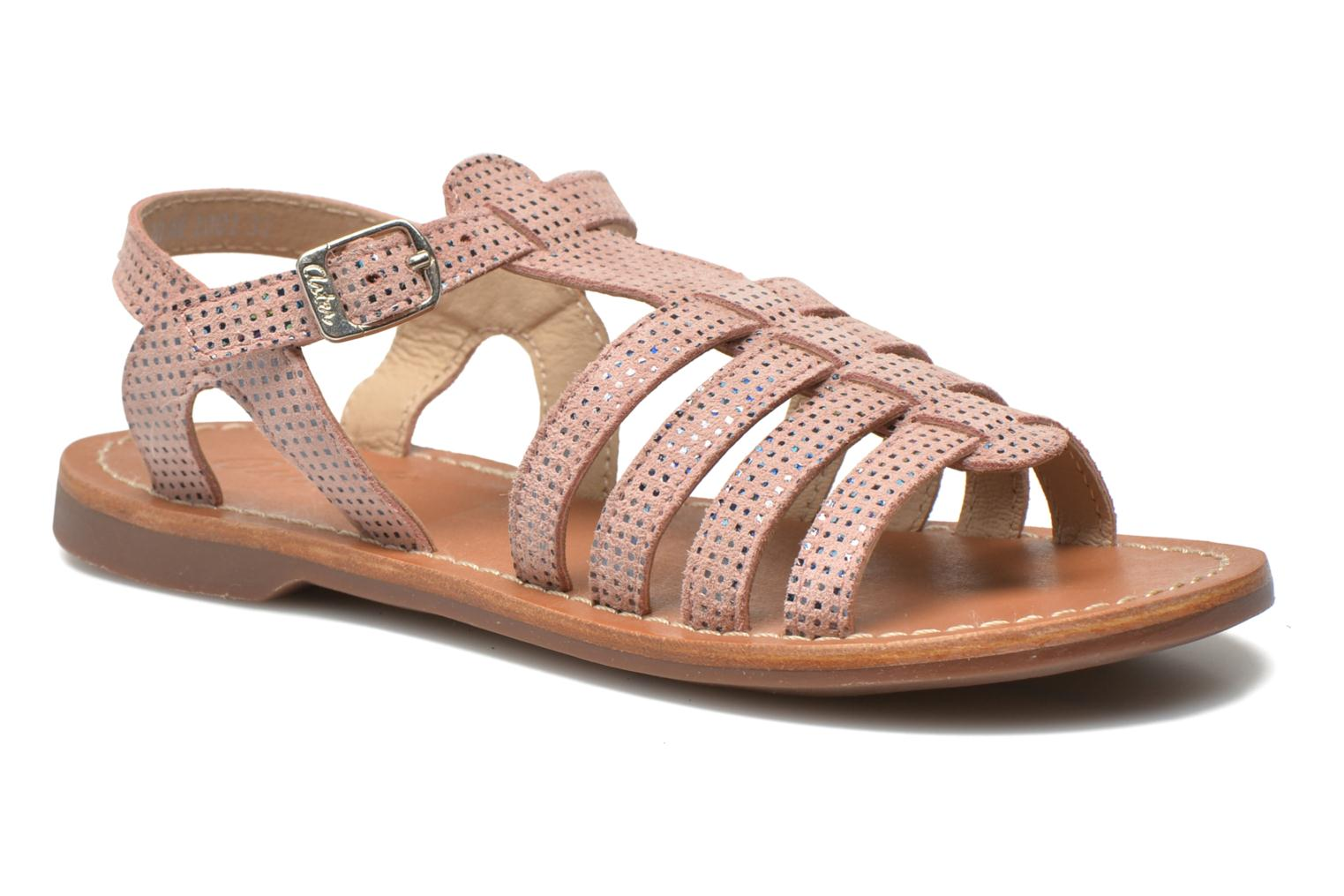 Sandals Aster Vibride Pink detailed view/ Pair view