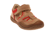 Trappeur Taupe buck Rouge