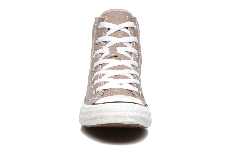Sneaker Converse Chuck Taylor All Star Hi W beige schuhe getragen