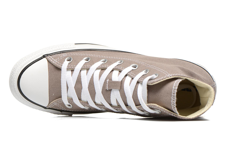 Sneaker Converse Chuck Taylor All Star Hi W beige ansicht von links