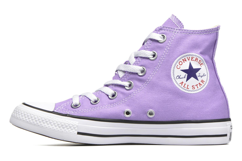 Baskets Converse Chuck Taylor All Star Hi W Violet vue face