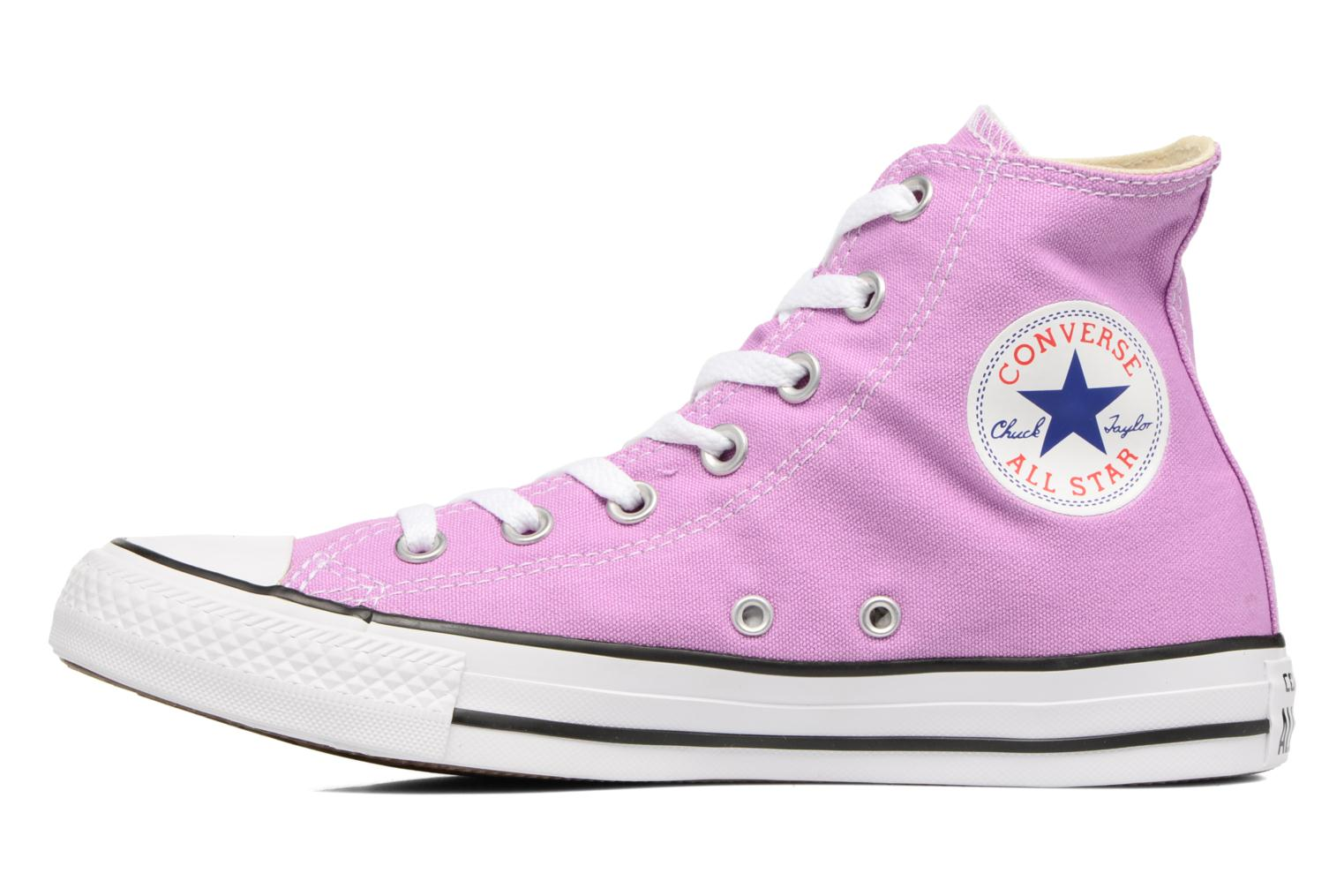 Baskets Converse Chuck Taylor All Star Hi W Violet vue face