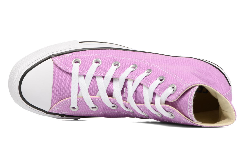Sneakers Converse Chuck Taylor All Star Hi W Lila bild från vänster sidan