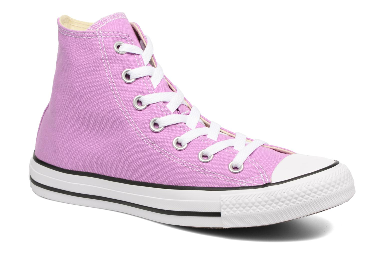 Sneakers Converse Chuck Taylor All Star Hi W Lila detaljerad bild på paret