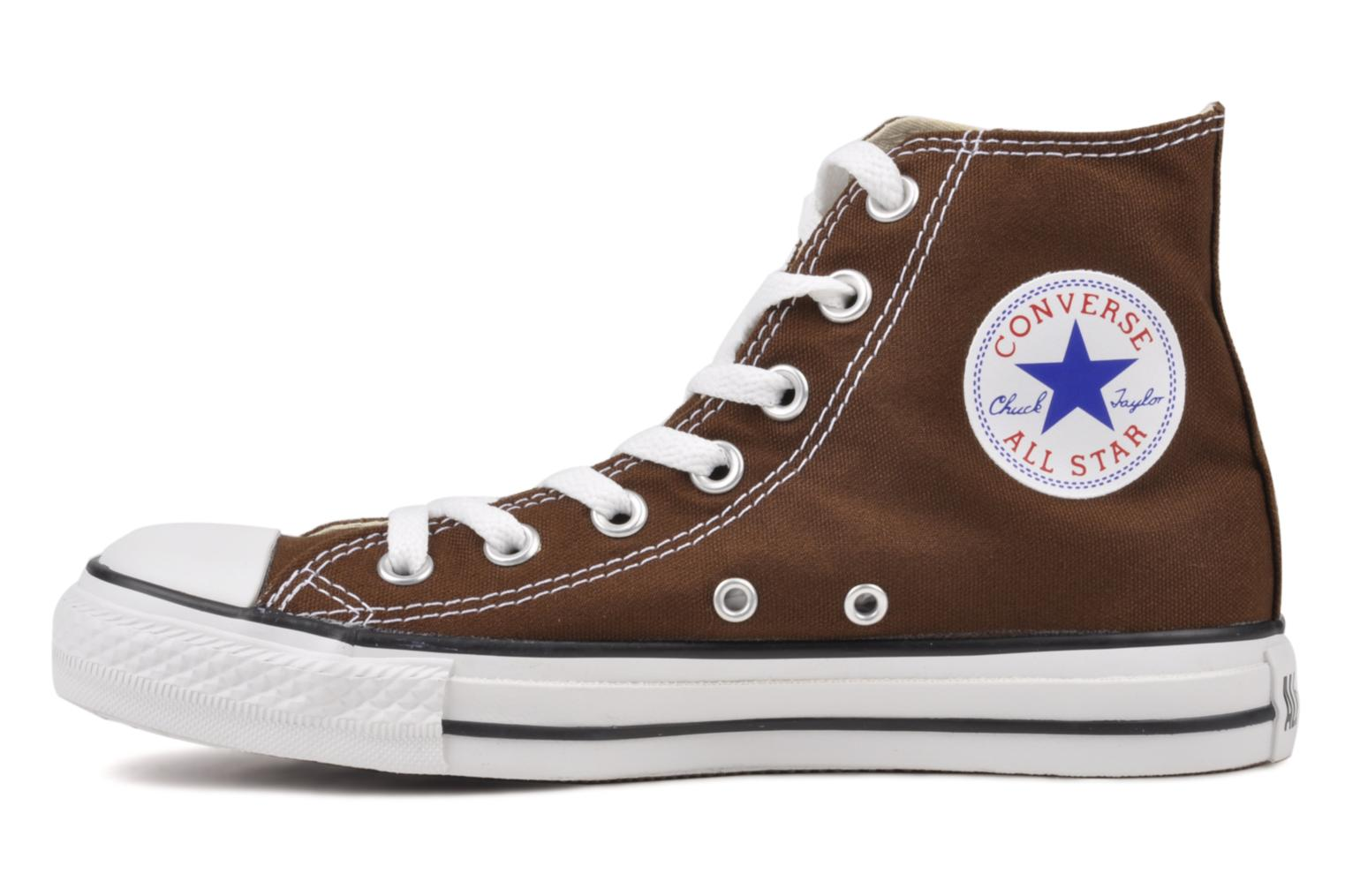 Sneakers Converse Chuck Taylor All Star Hi W Marrone immagine frontale