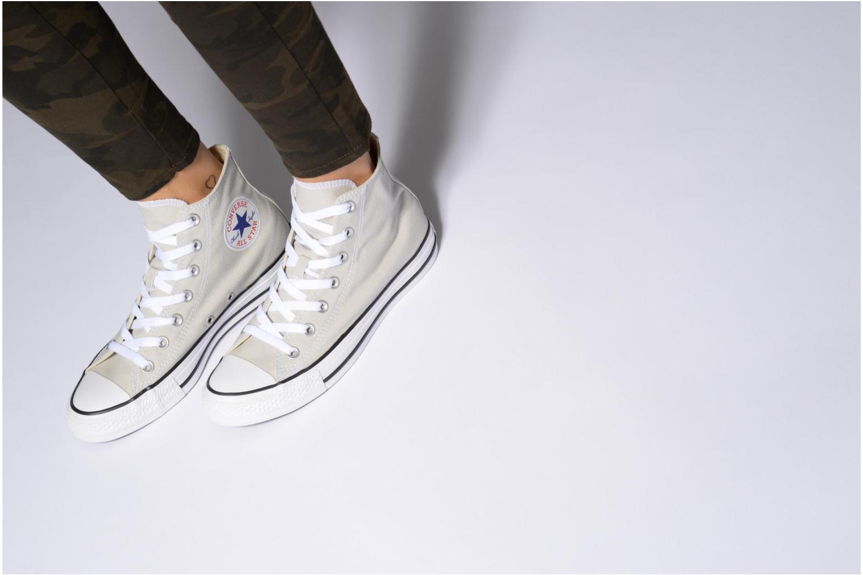 Sneakers Converse Chuck Taylor All Star Hi W Marrone immagine dal basso