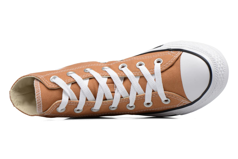 Sneakers Converse Chuck Taylor All Star Hi W Marrone immagine sinistra