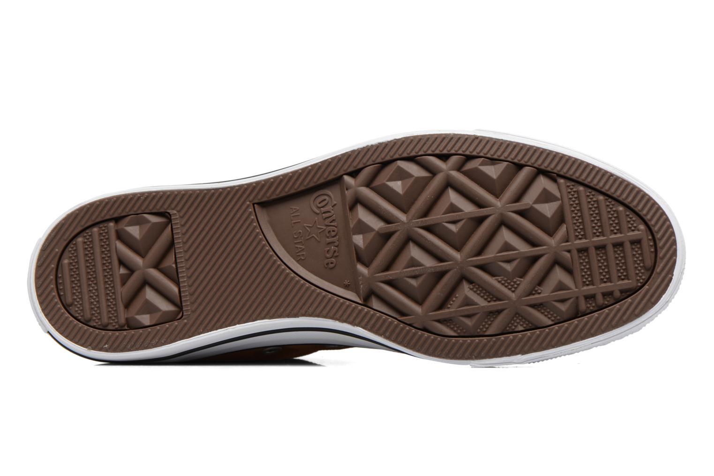 Sneakers Converse Chuck Taylor All Star Hi W Marrone immagine dall'alto