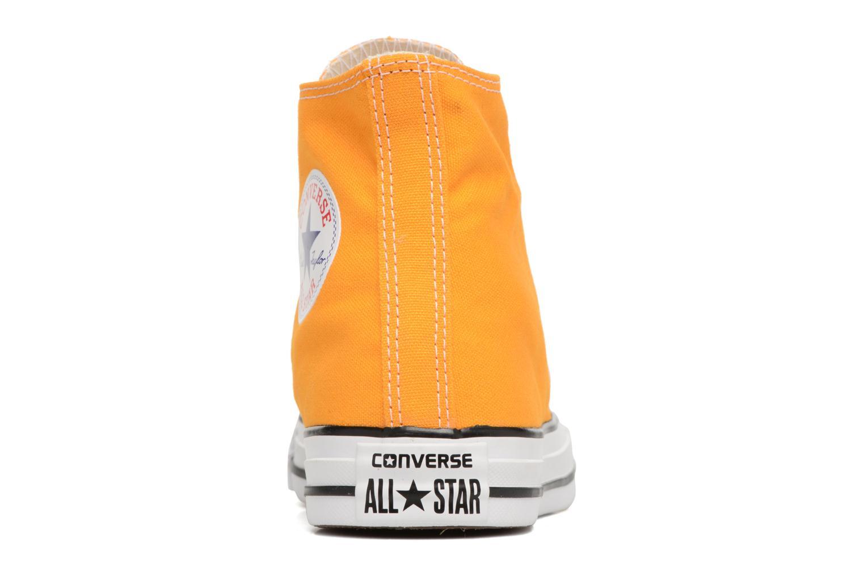 Baskets Converse Chuck Taylor All Star Hi W Jaune vue droite