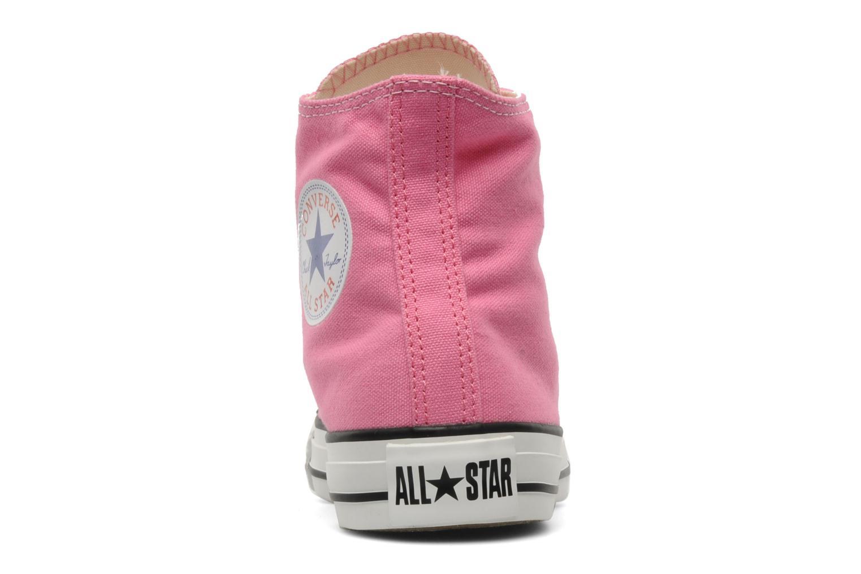 Sneaker Converse Chuck Taylor All Star Hi W rosa ansicht von rechts