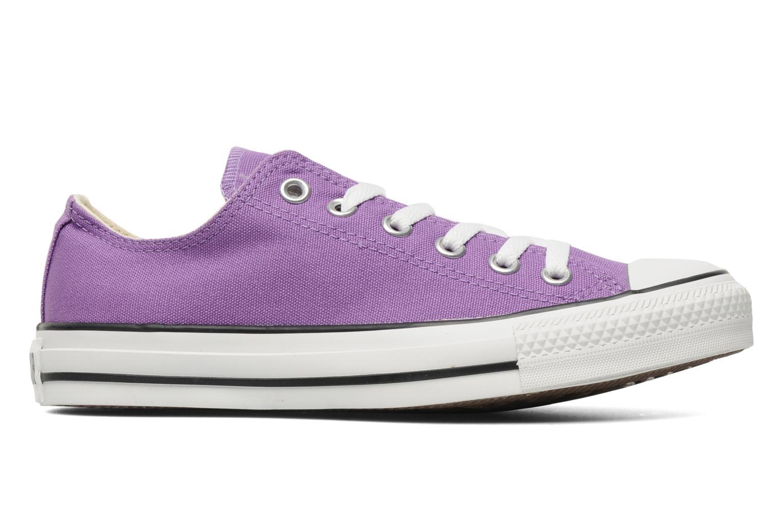 Sneaker Converse Chuck Taylor All Star Ox W lila ansicht von hinten