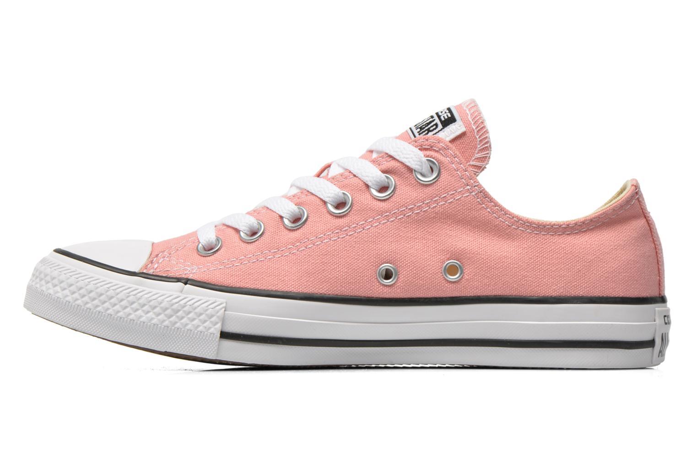 Sneaker Converse Chuck Taylor All Star Ox W rosa ansicht von vorne