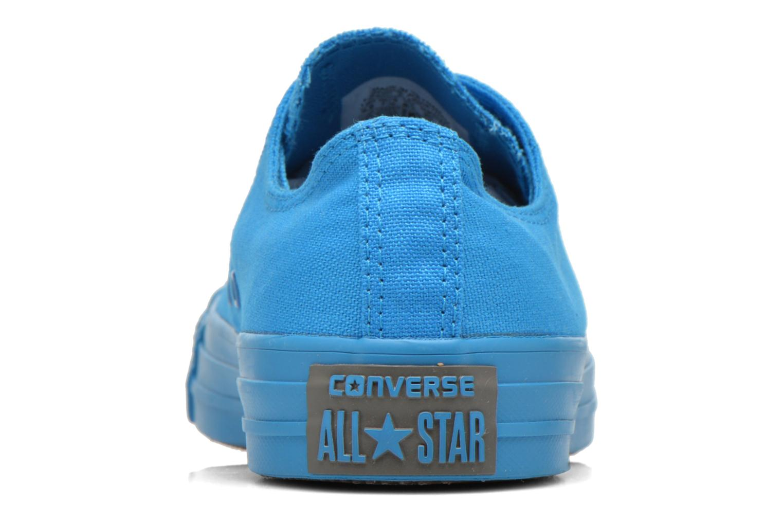 Baskets Converse Chuck Taylor All Star Ox W Bleu vue droite