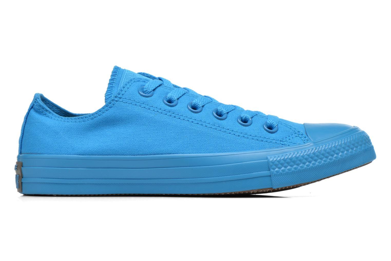 Sneaker Converse Chuck Taylor All Star Ox W blau ansicht von hinten