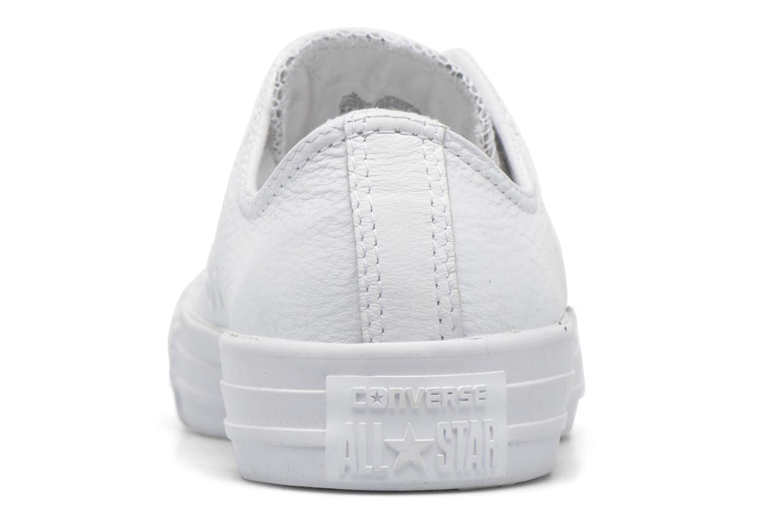 Baskets Converse Chuck Taylor All Star Ox W Blanc vue droite