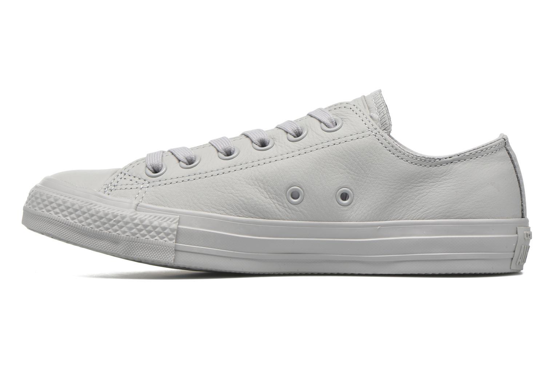 Sneaker Converse Chuck Taylor All Star Ox W grau ansicht von vorne