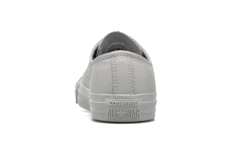 Sneaker Converse Chuck Taylor All Star Ox W grau ansicht von rechts
