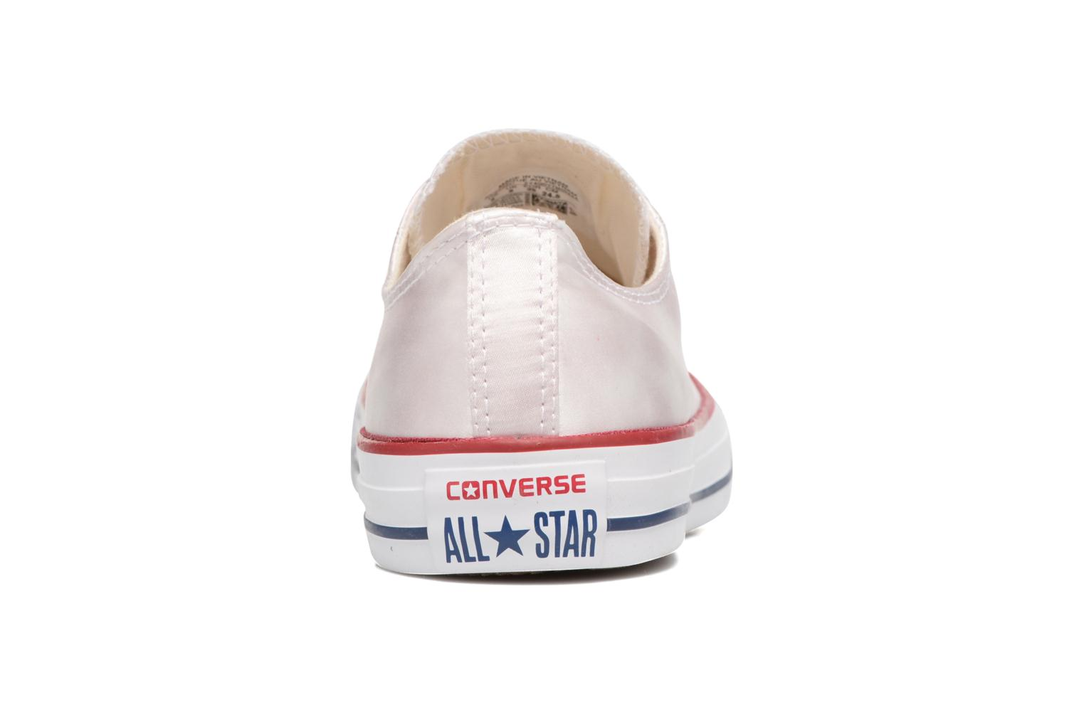 Baskets Converse Chuck Taylor All Star Ox W Blanc vue droite