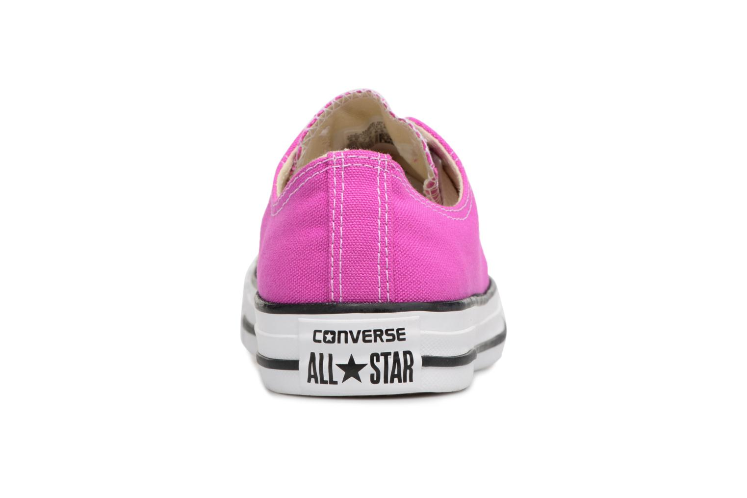 Baskets Converse Chuck Taylor All Star Ox W Rose vue droite