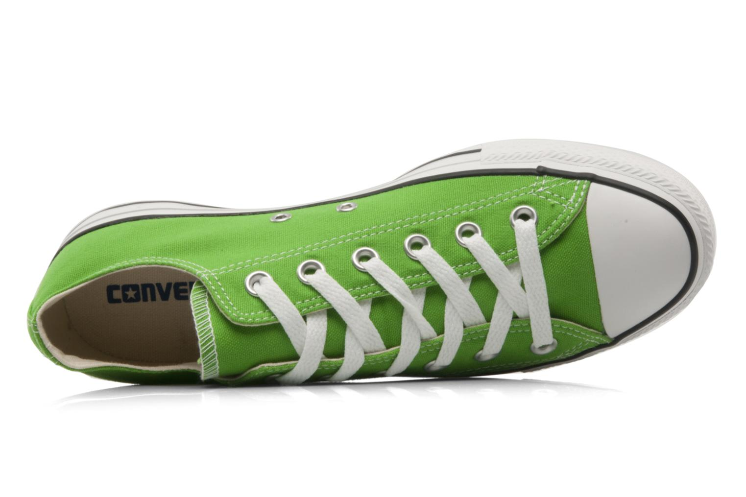 Trainers Converse Chuck Taylor All Star Ox W Green view from the left