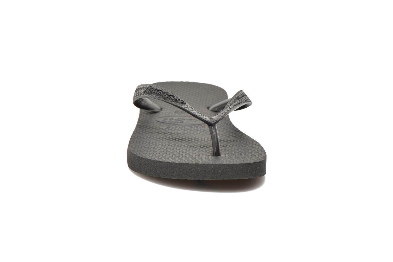 Tongs Havaianas Top F Noir vue portées chaussures