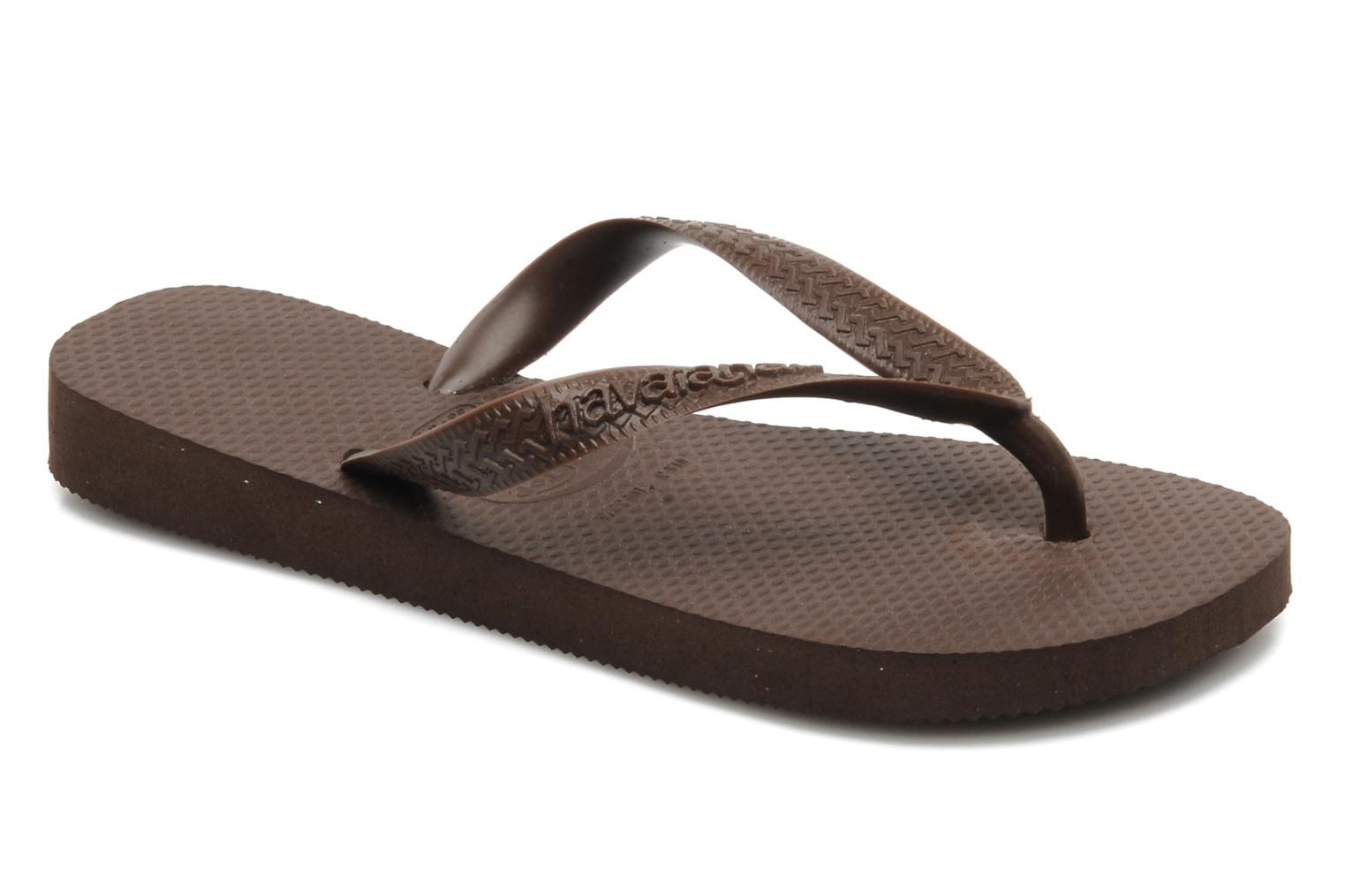 Tongs Havaianas Top F Marron vue détail/paire