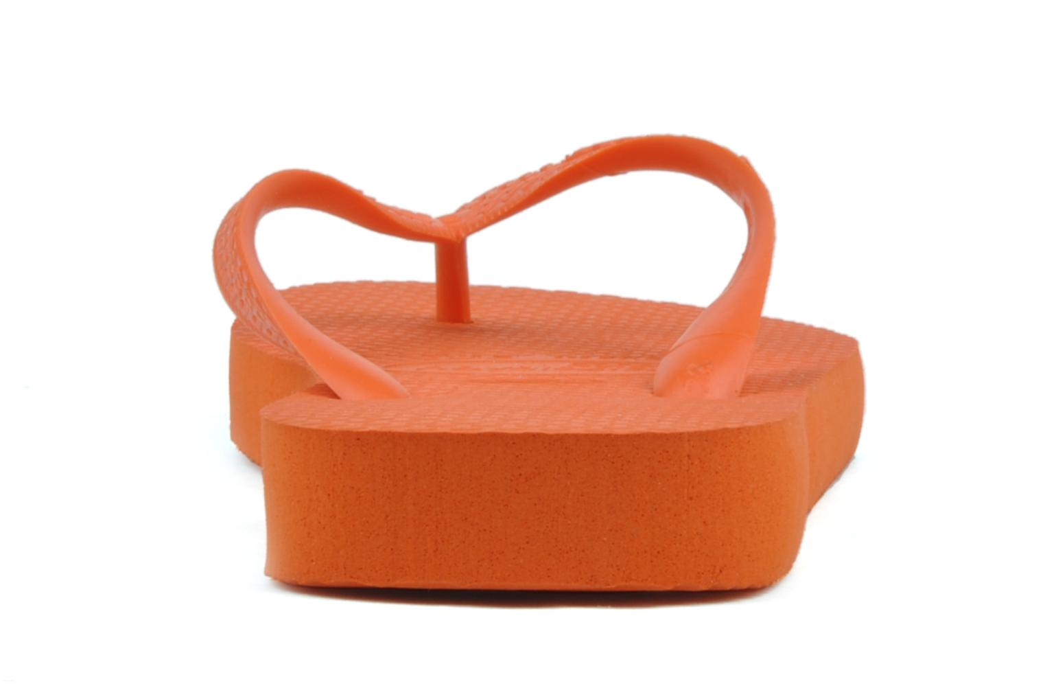 Tongs Havaianas Top F Orange vue droite
