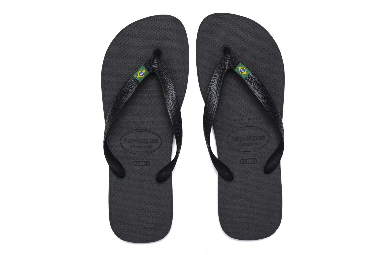 Slippers Havaianas Brazil Femme Zwart 3/4'
