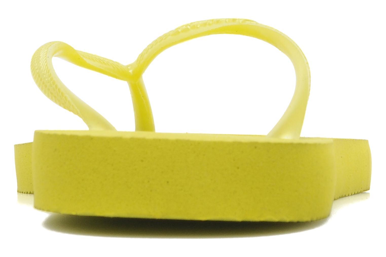 Slim Métallic Femme Neon Yellow