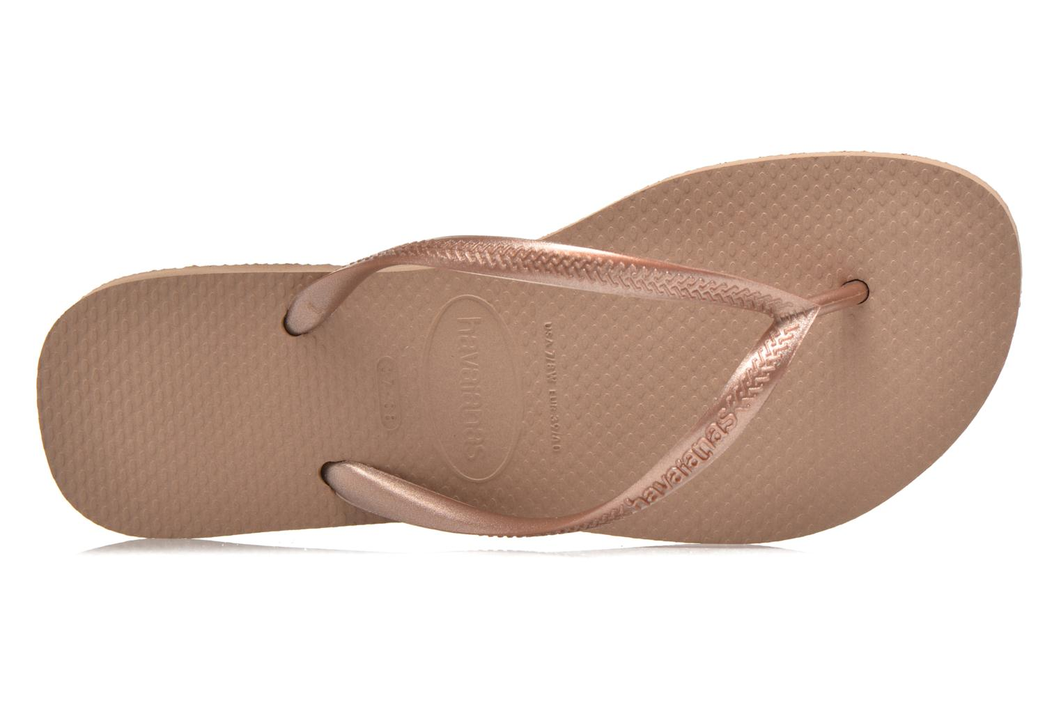 Slim Metallic Femme Rose gold