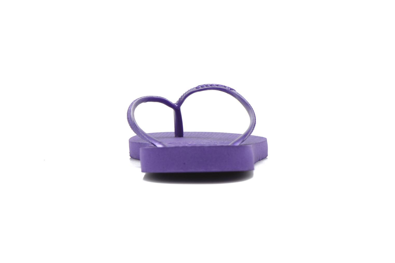 Slim Métallic Femme Purple/Purple