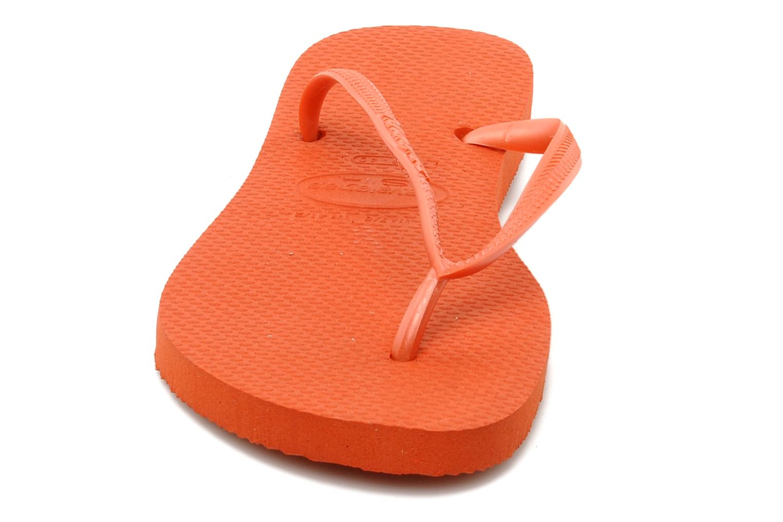 Slippers Havaianas Slim Métallic Femme Oranje model