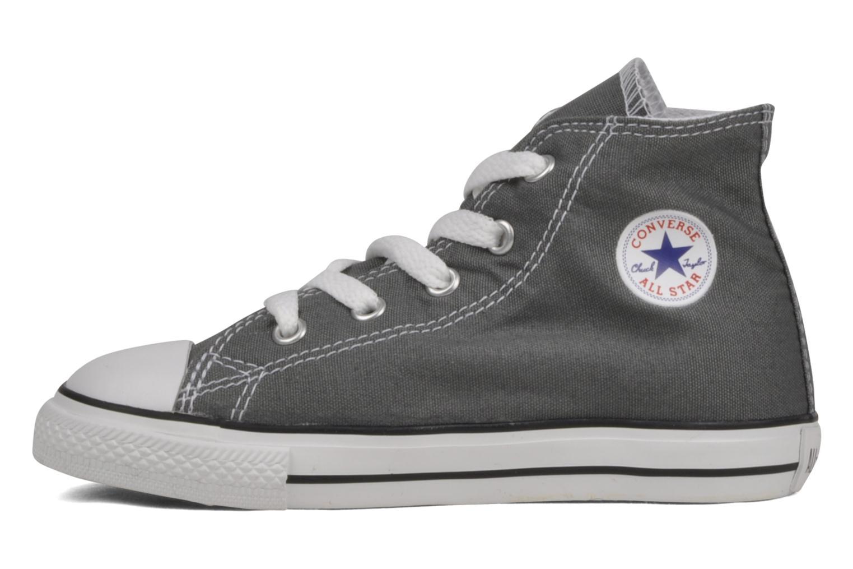 Sneaker Converse Chuck Taylor All Star Hi K grau ansicht von vorne