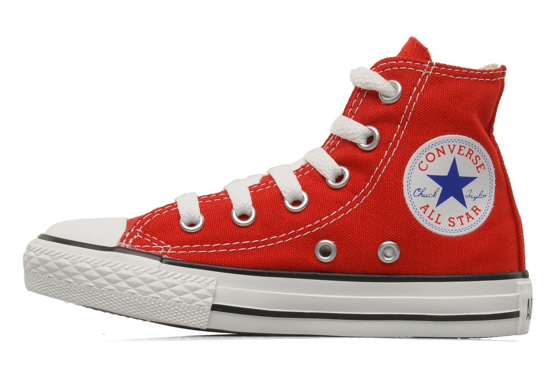 Deportivas Converse Chuck Taylor All Star Hi K Rojo vista de frente