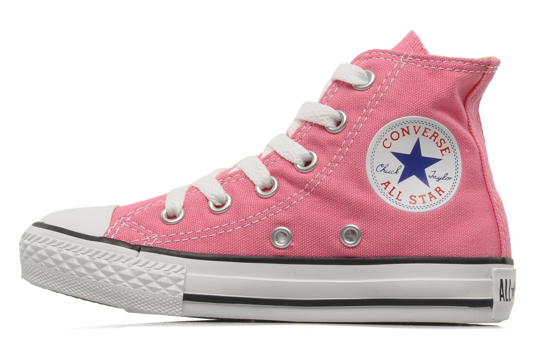 Sneaker Converse Chuck Taylor All Star Hi K rosa ansicht von vorne