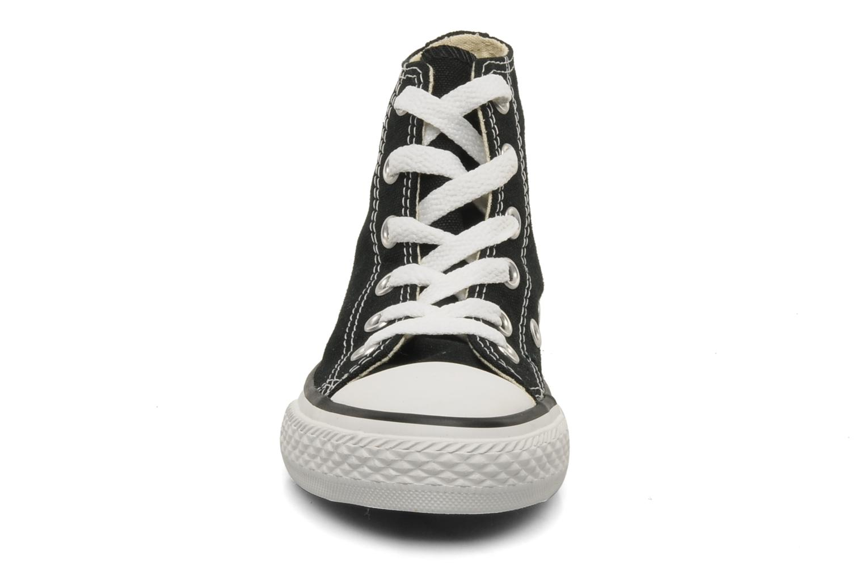 Sneaker Converse Chuck Taylor All Star Hi K schwarz schuhe getragen