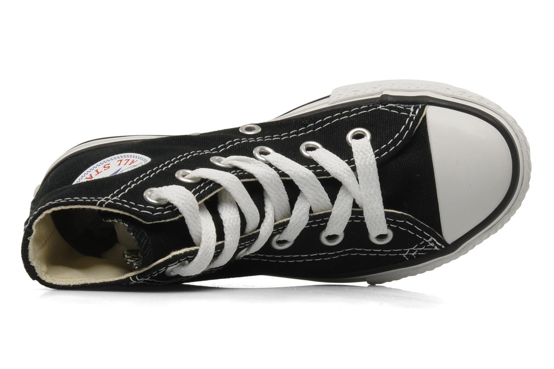 Sneaker Converse Chuck Taylor All Star Hi K schwarz ansicht von links