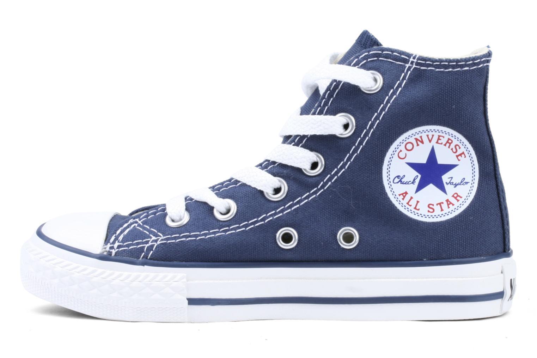 Sneakers Converse Chuck Taylor All Star Hi K Blauw voorkant