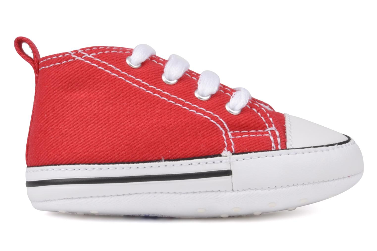 Trainers Converse First Star B Red back view