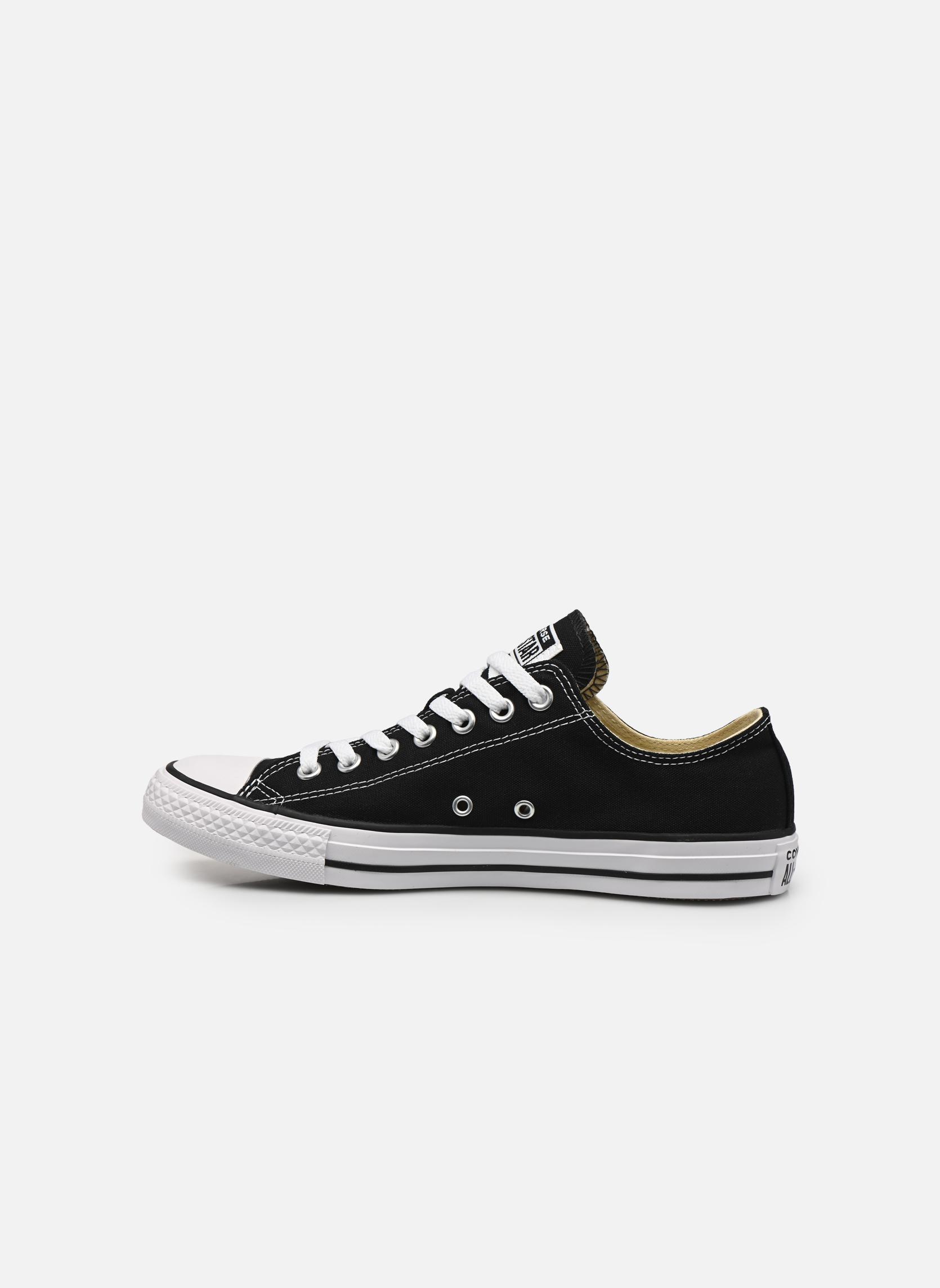 Sneakers Converse Chuck Taylor All Star Ox M Zwart voorkant