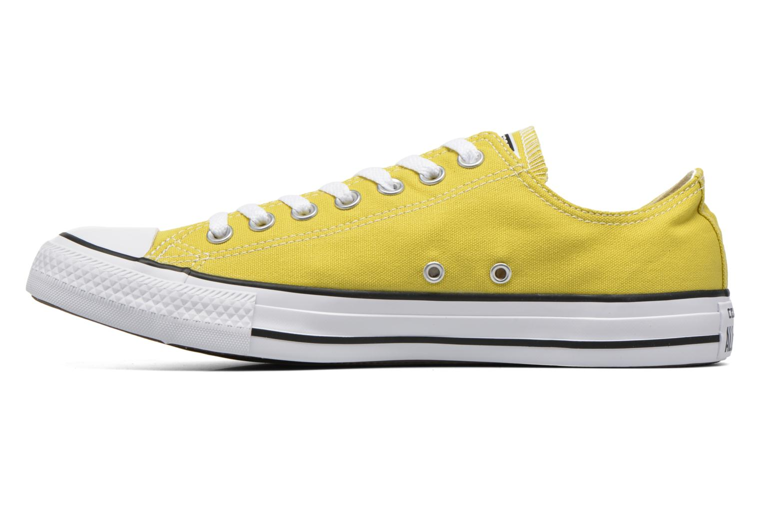Baskets Converse Chuck Taylor All Star Ox M Jaune vue face