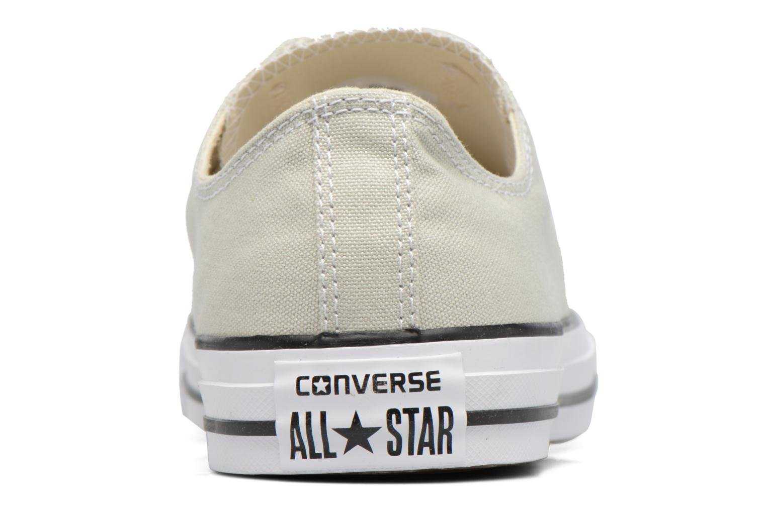 Sneakers Converse Chuck Taylor All Star Ox M Beige immagine destra
